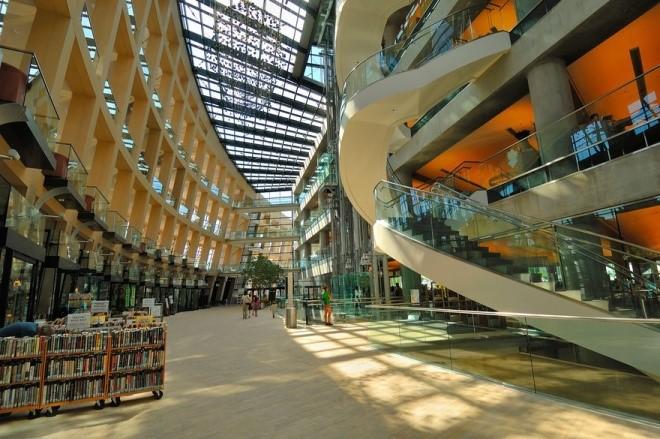 Thư viện công ở thành phố Salt Lake