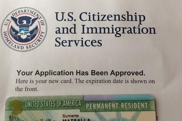 thẻ xanh định cư