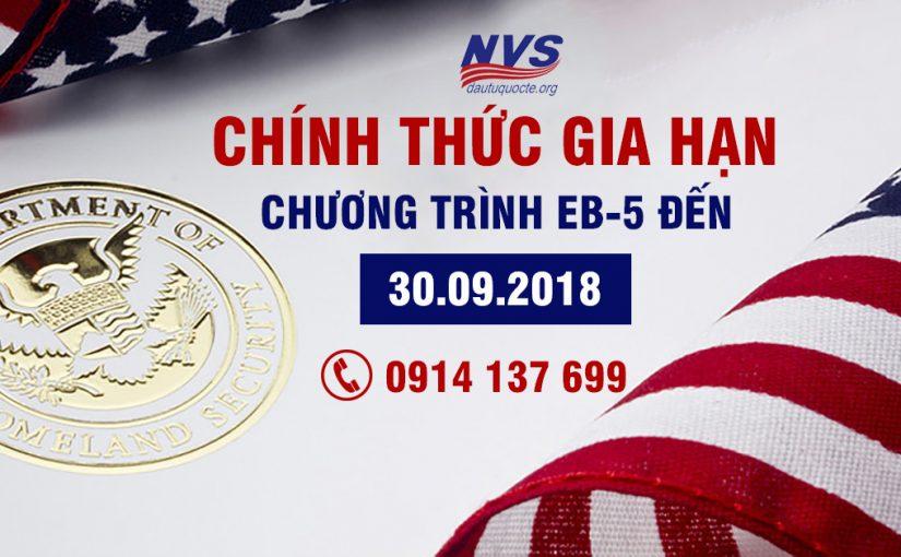 Chính thức gia hạn chương trình MB-5 đến ngày 30-09-2018