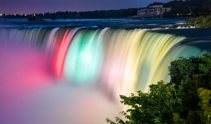 Vẻ đẹp của thác nước Niagara, Canada