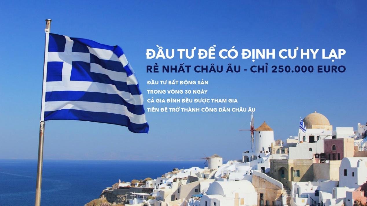 Lợi ích khi đầu tư định cư Hy Lạp