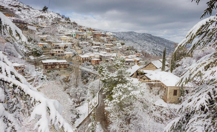Mùa đông ở đảo Síp