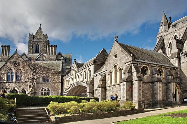 Kiến trúc cổ kính những lâu đài ở Ireland
