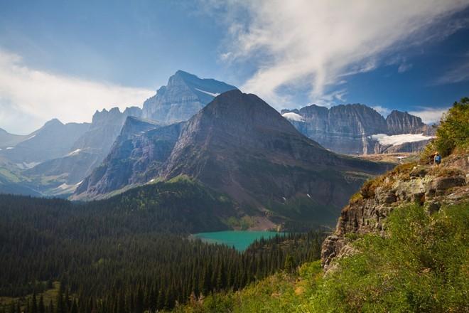 Nước Mỹ có rất nhiều cảnh đẹp để khám phá.