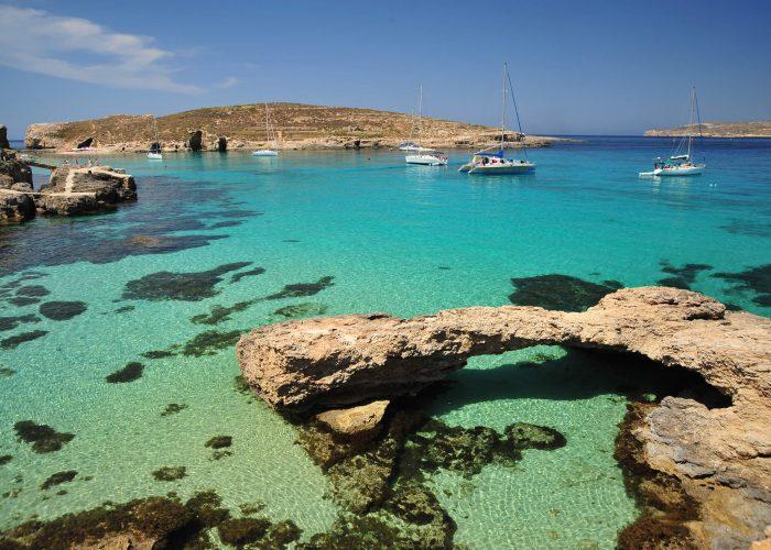 Bãi biển Għajn Tuffieħa, Malta, bức tranh hoàn hảo