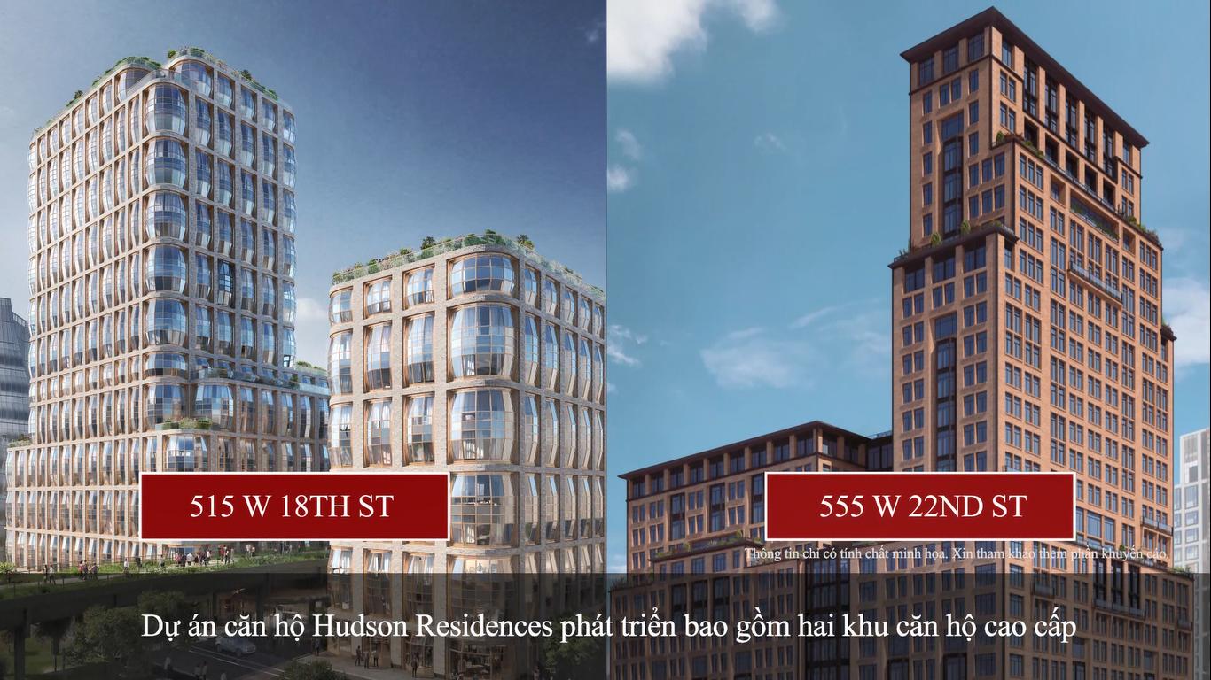 Thông tin tổng quan về dự án Hudson Residences định cư EB5