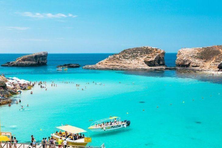 Vịnh Imġiebaħ-malta, bãi biển đẹp Malta