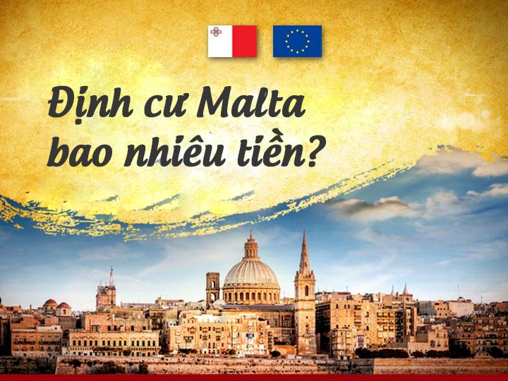 Chi phí định cư Malta