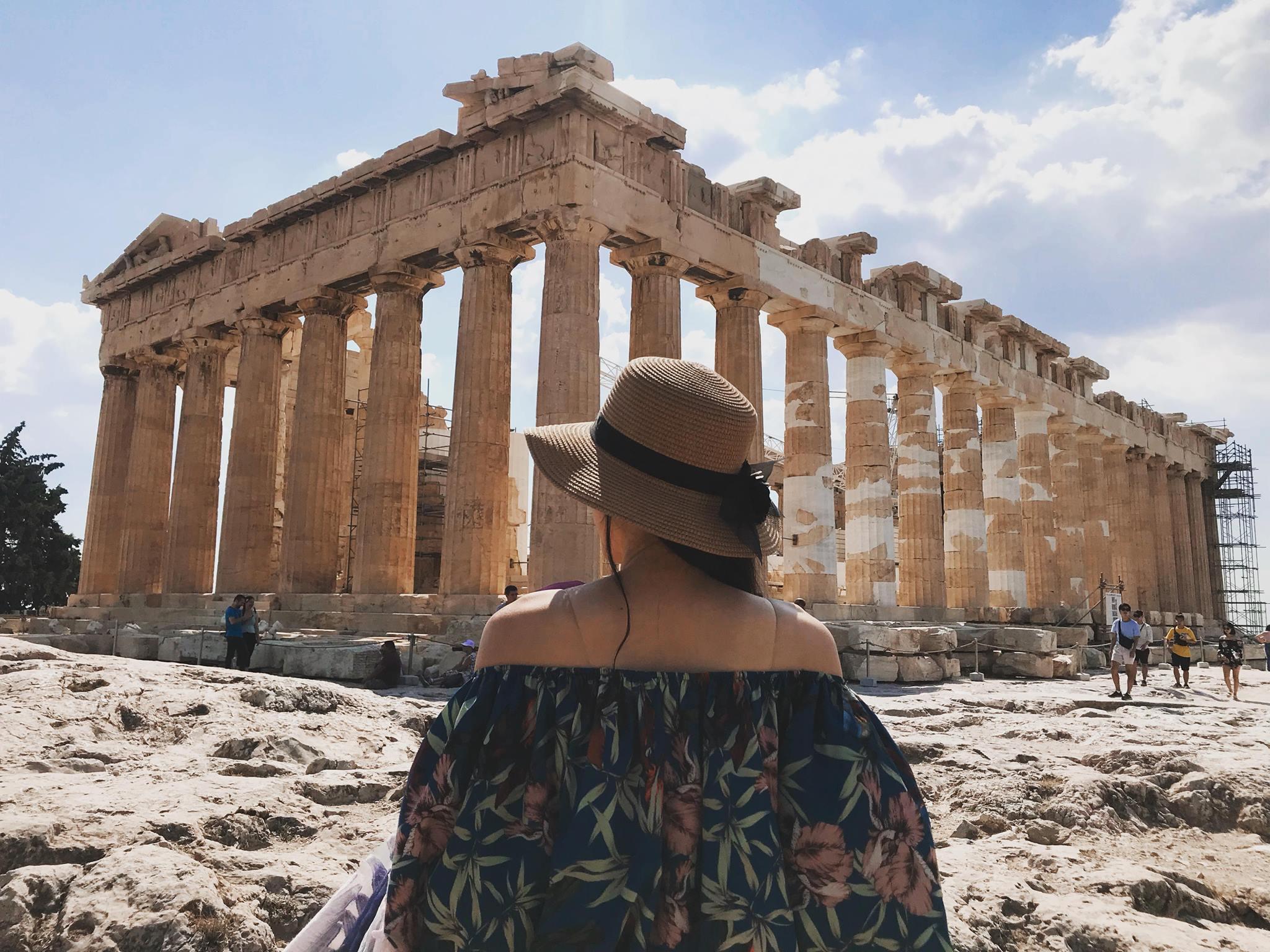 Athen Hy Lạp, cảnh quan lộng lẫy