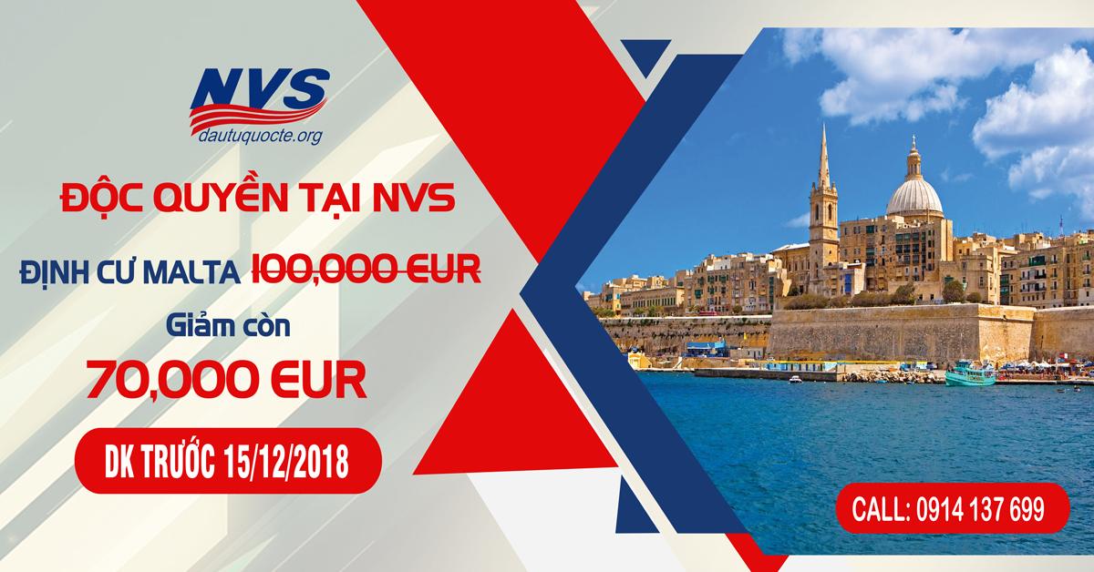 Ưu đãi độc quyền từ NVS gói hỗ trợ tài chính 70 ngàn Euro