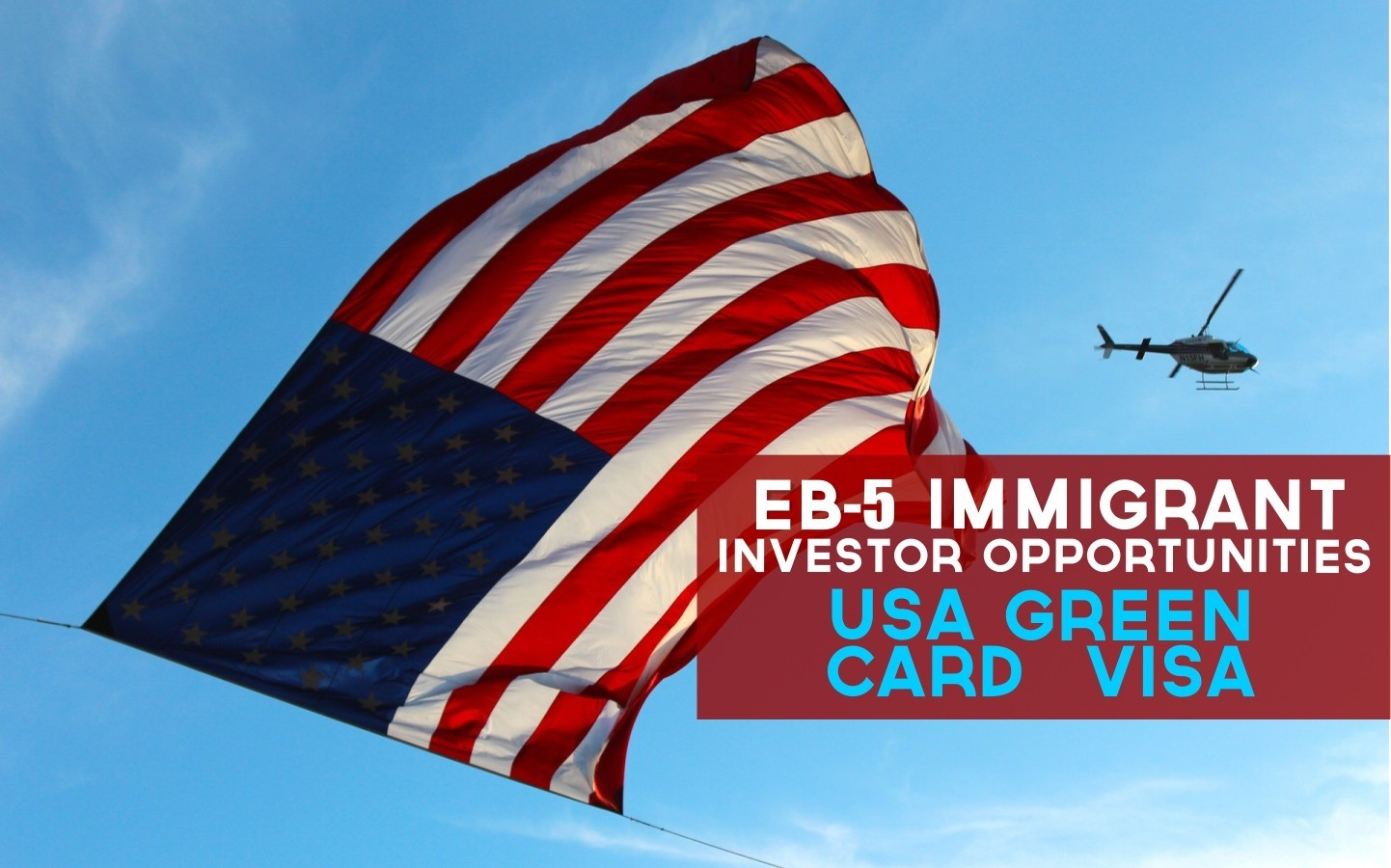 EB5 là chương trình đàu tư định cư Mỹ an toàn, nhanh chóng nhất