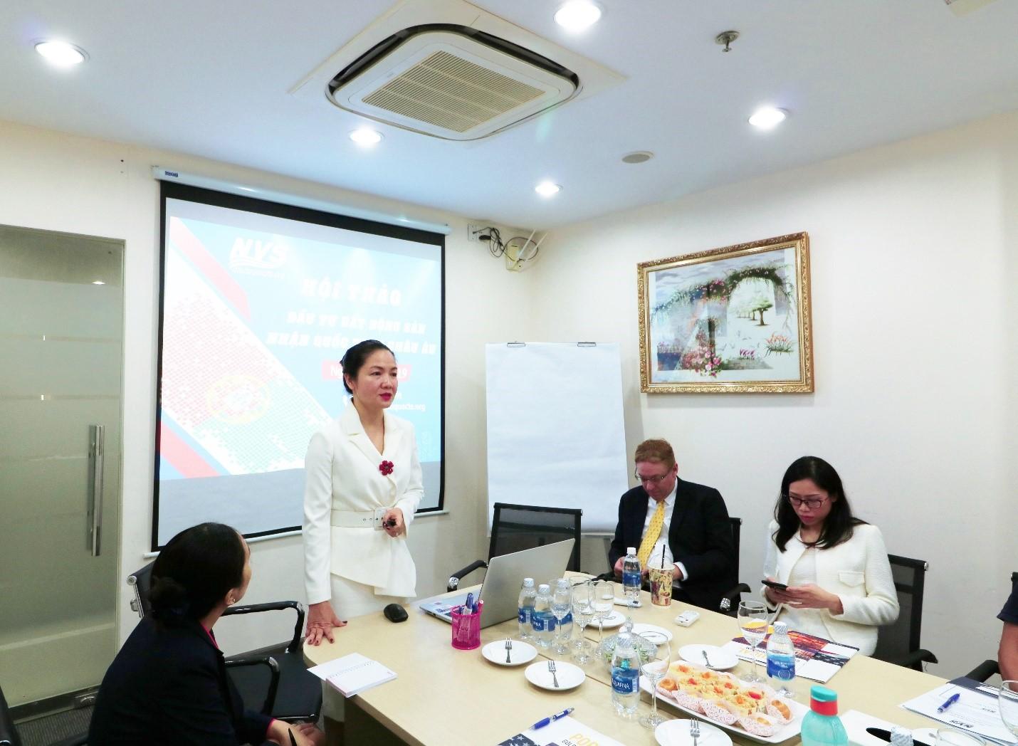 Giám đốc Điều hành NVS – Bà Trịnh Thị Thanh Nhàn chia sẻ thông tin định cư Bồ Đào Nha mới nhất đến NĐT.