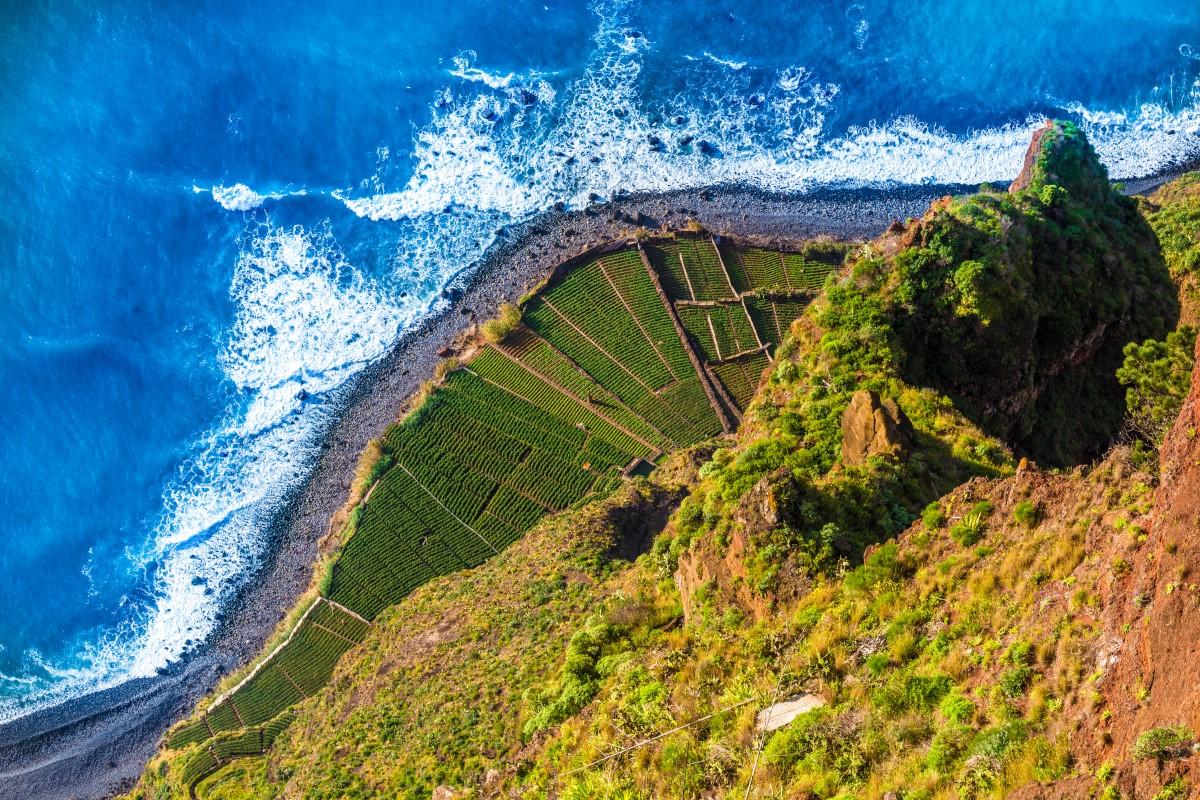 Vách đá Cabo Girao Bồ Đào Nha