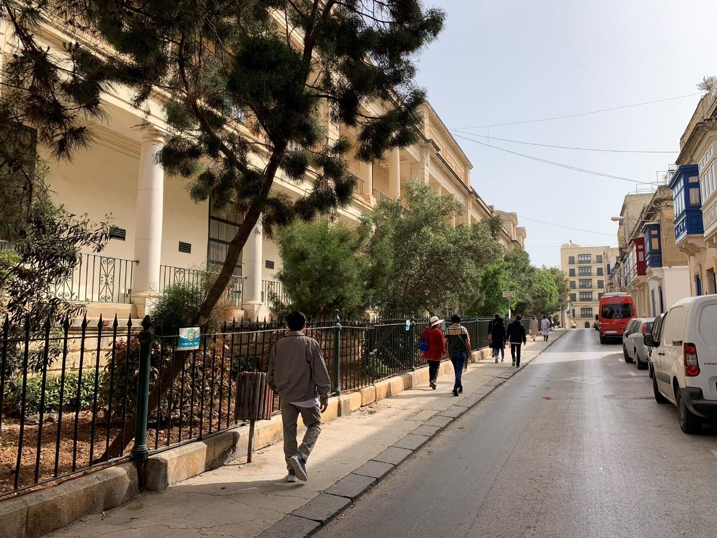 Đường phố Malta sạch đẹp và bình yên – Hình trong chuyến khảo sát của NVS