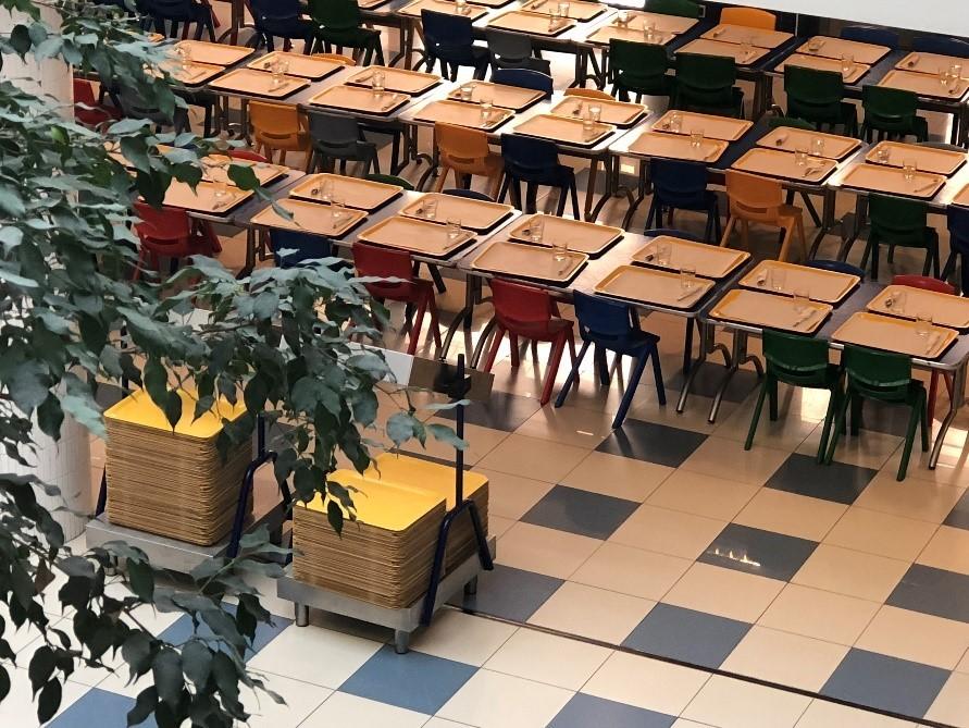 Cơ sở vật chất tại các trường rất tốt - Hình chụp của NVS trong chuyến khảo sát Bồ Đào Nha