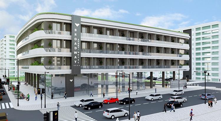 Chỉ 350,000 euro sở hữu ngay 2 căn hộ tại thành phố Porto – Dự án Broadway của NVS