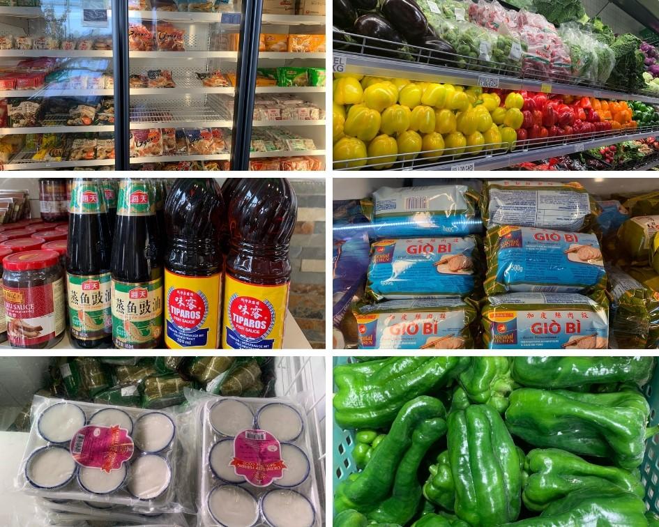 Siêu thị tại Malta rất nhiều thực phẩm Châu Á – Hình trong chuyến khảo sát của NVS