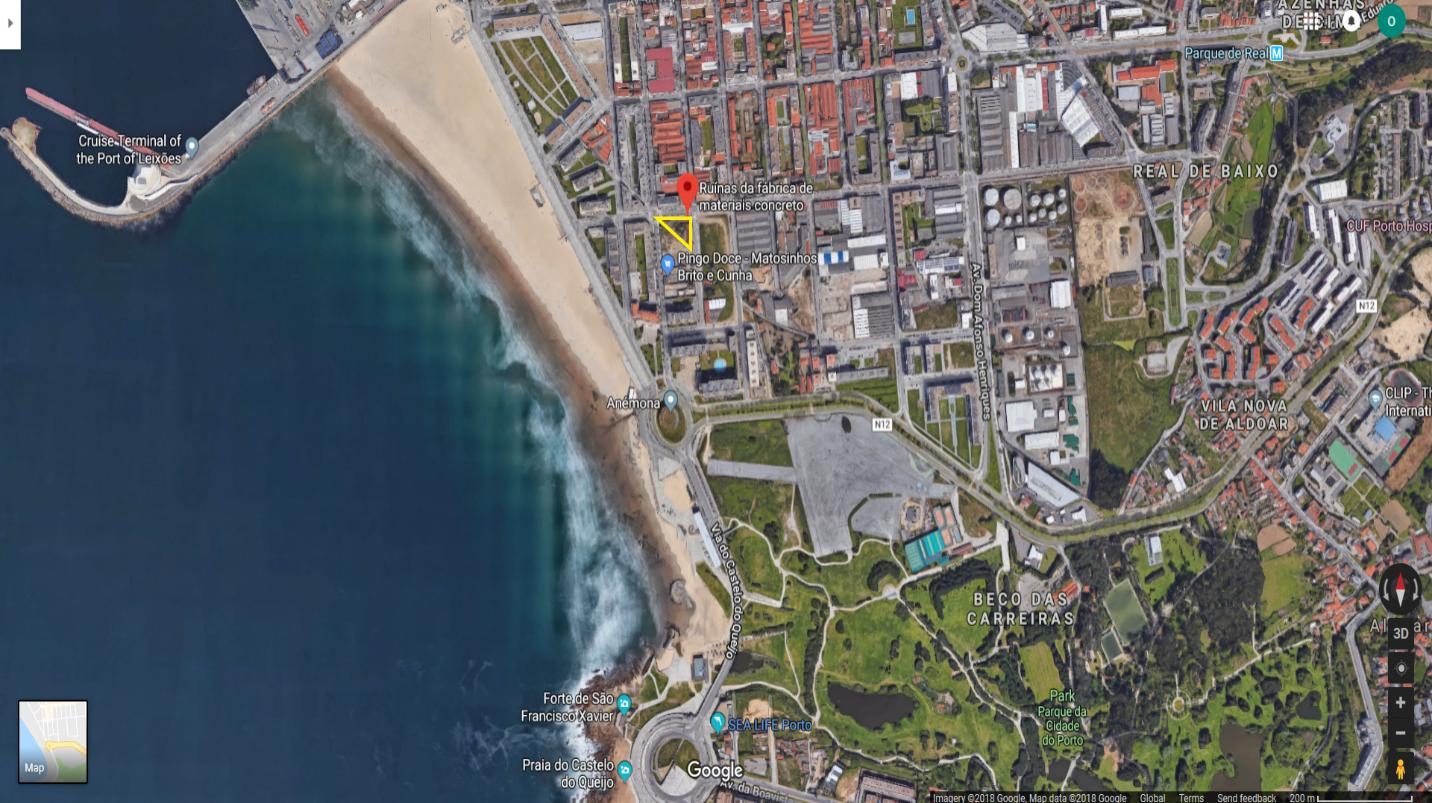 Vị trí dự án khách sạn Broadway trên bản đồ