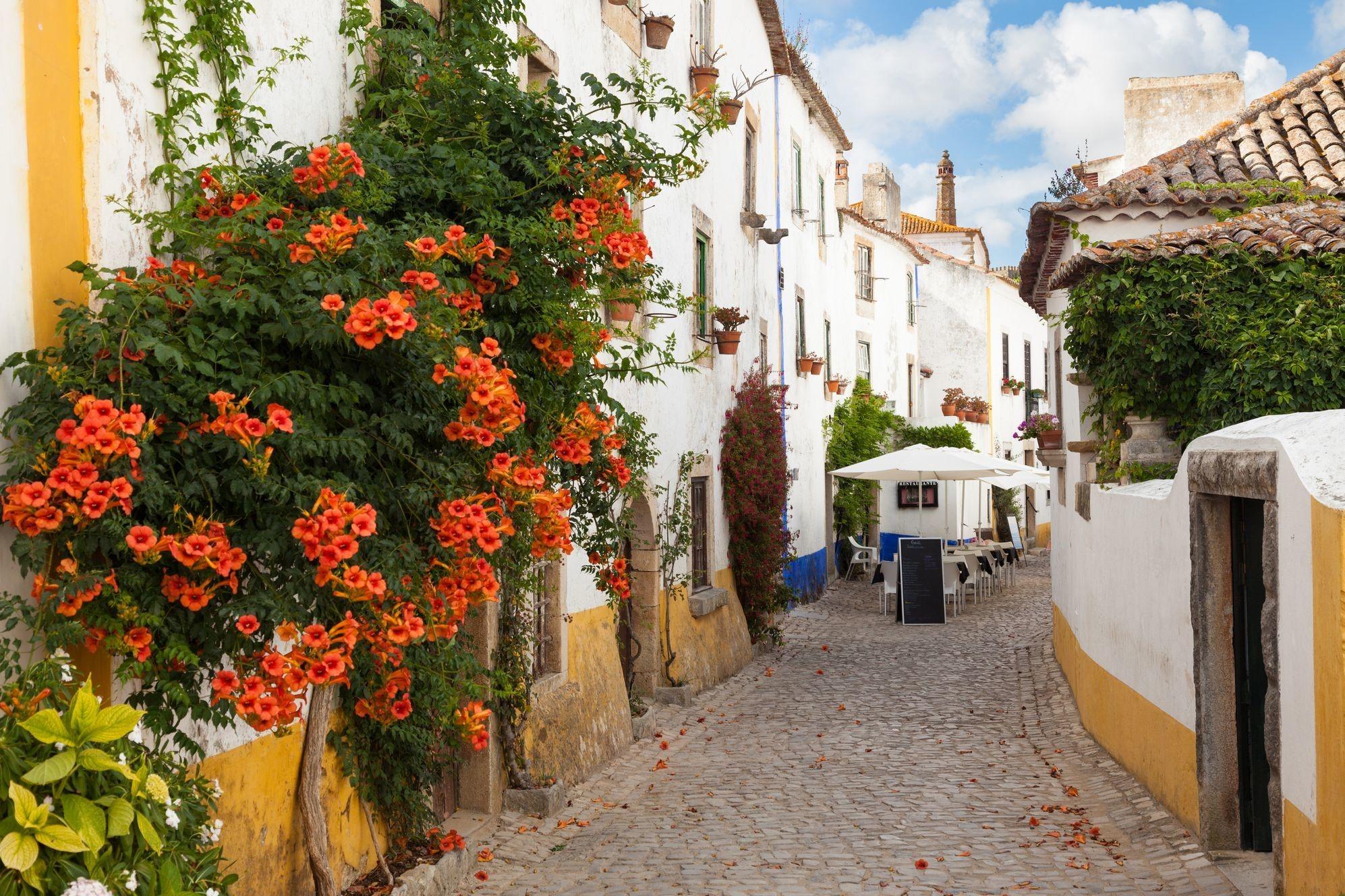 Góc phố lãng mạn tại Óbido