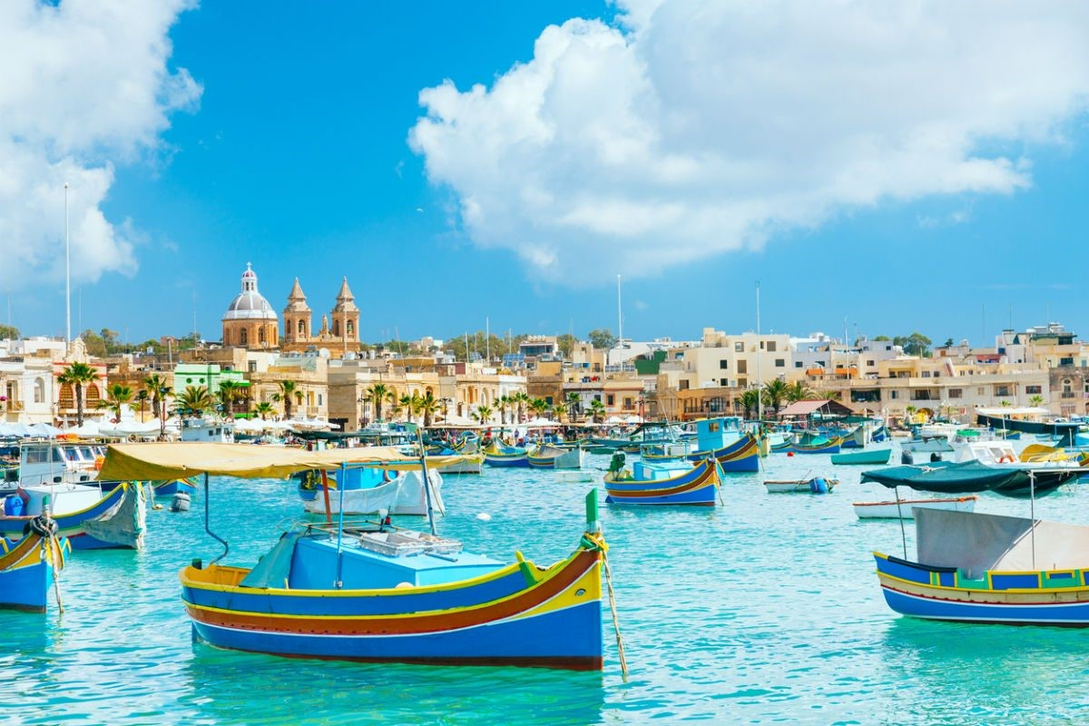 Làng chài Marsaxlokk tại Malta