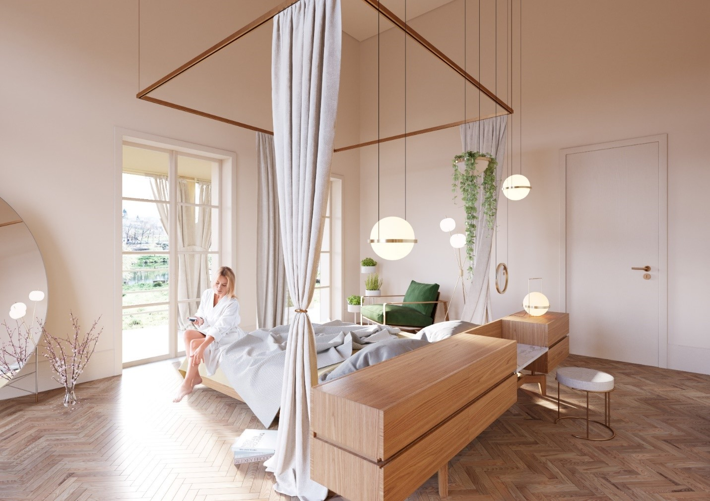 Thiết kế bên trong khách sạn Manor House