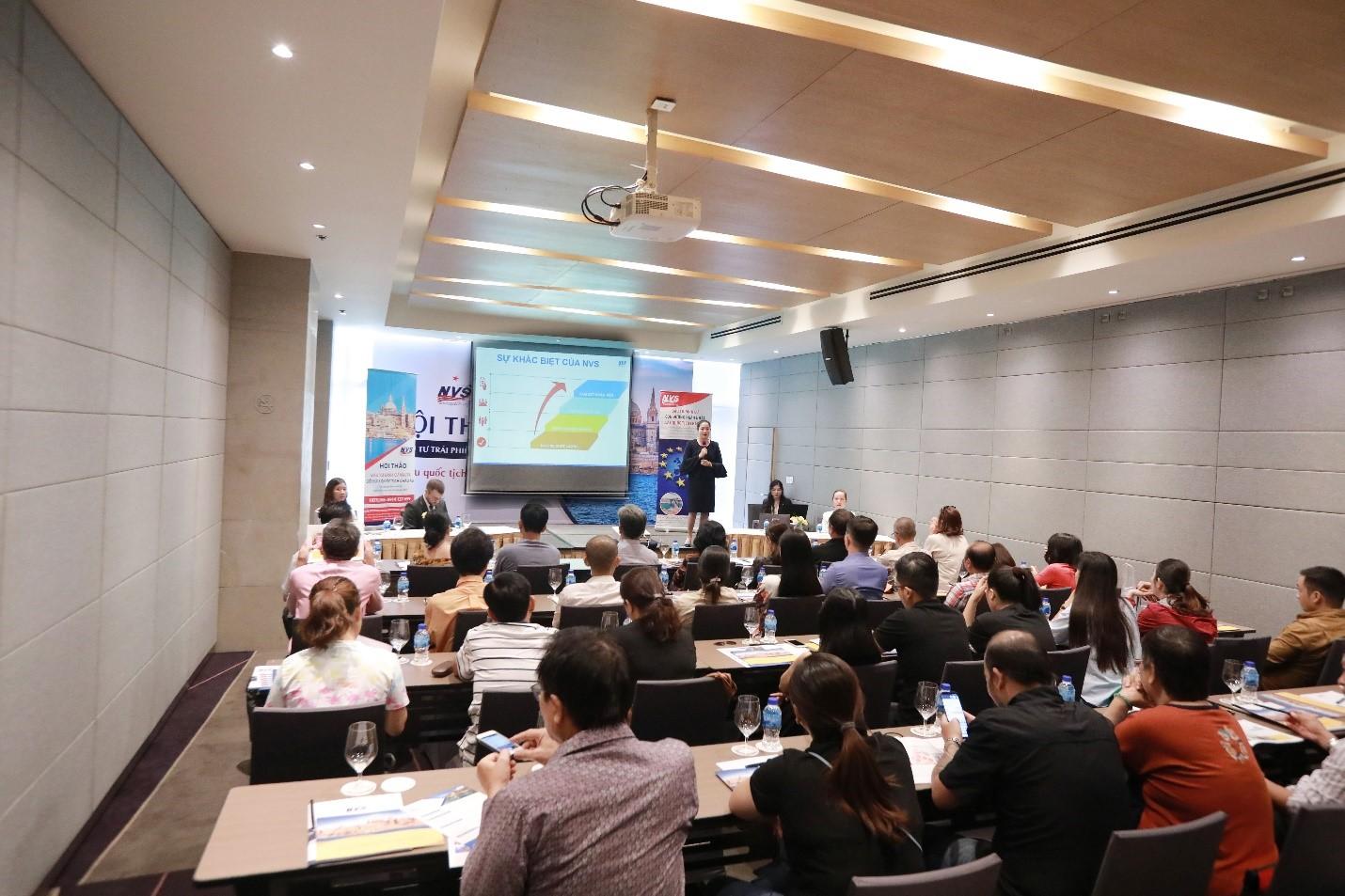 Số lượng khách tham dự hội thảo rất đông, vượt cả dự kiến của NVS