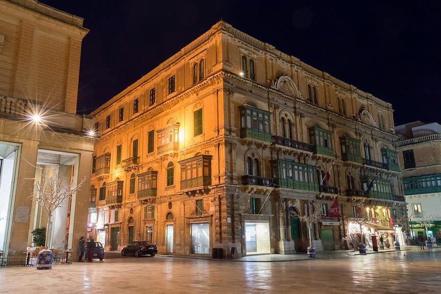 Thủ đô Malta buổi đêm