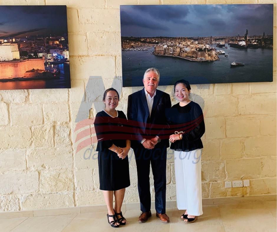NVS gặp gỡ chính phủ Malta