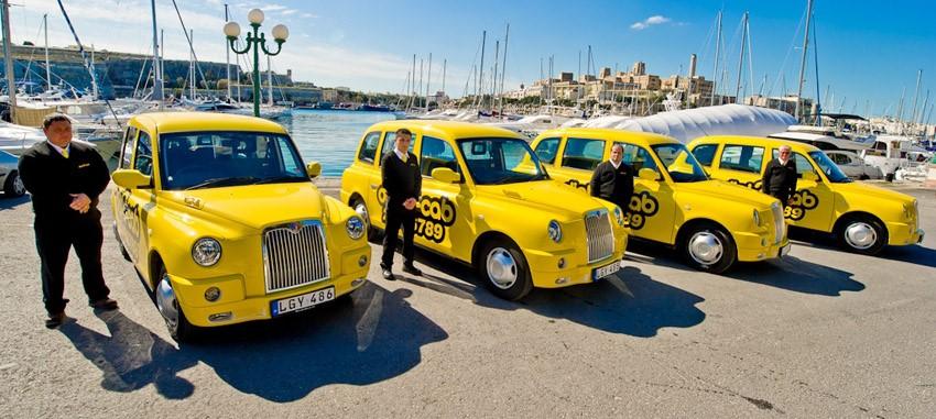 Taxi ở Malta