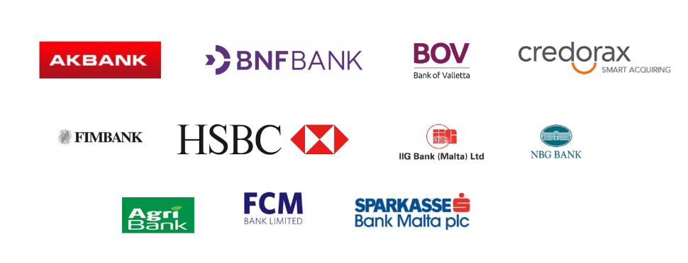 Làm việc cho các tổ chức tài chính ở Malta