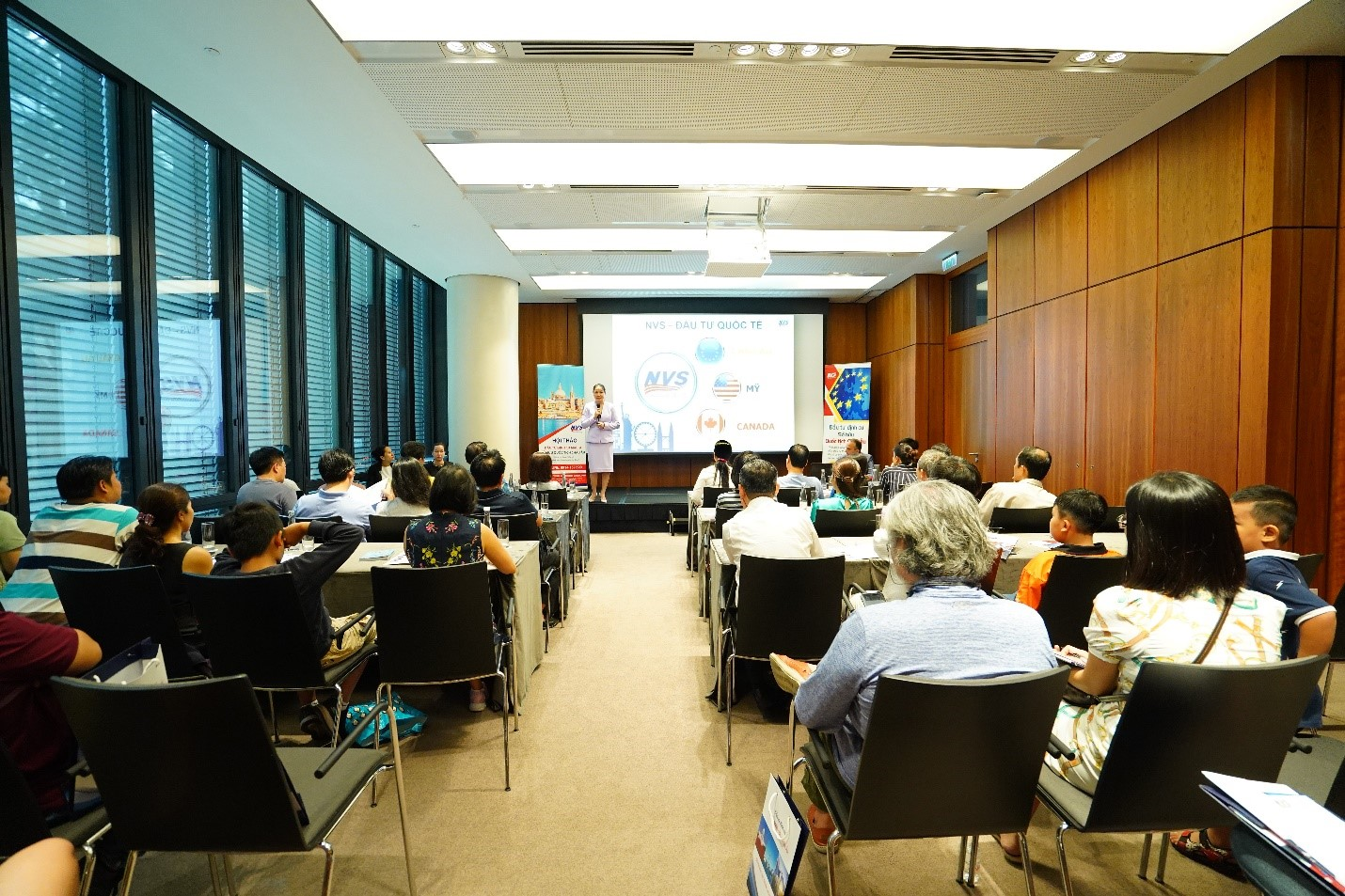 Buổi hội thảo Malta ngày 10/8 vừa qua thu hút đông đảo nhà đầu tư