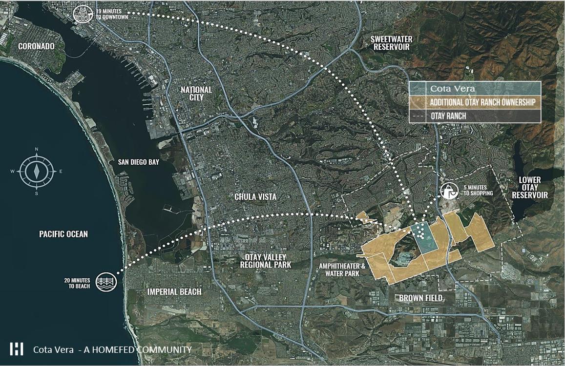 Vị trí của dự án Cota Vera trên bản đồ
