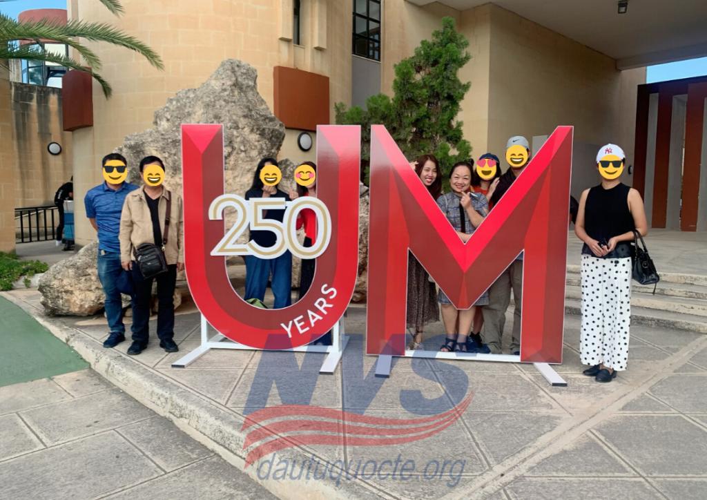 Trường đại học Malta đang có lễ kỷ niệm 250 năm thành lập