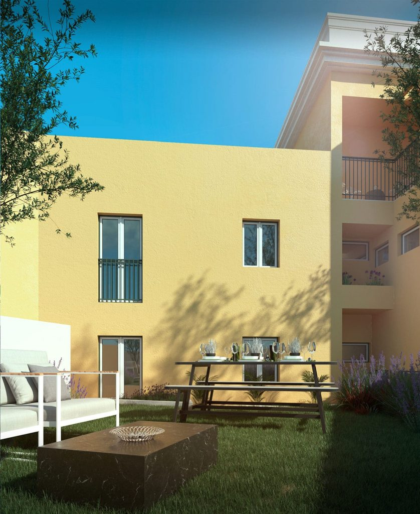 Đặc biệt căn hộ tầng trệt sẽ có khoản sân vườn riêng rất tuyệt vời