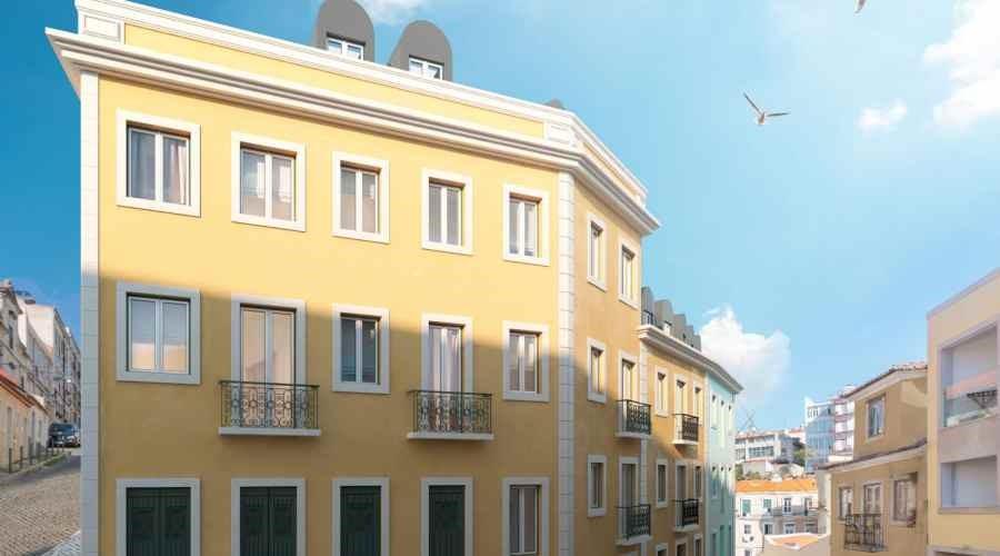 Các căn hộ tầng trên sẽ có ban công hoặc hàng hiên nhìn ra khung cảnh thành phố