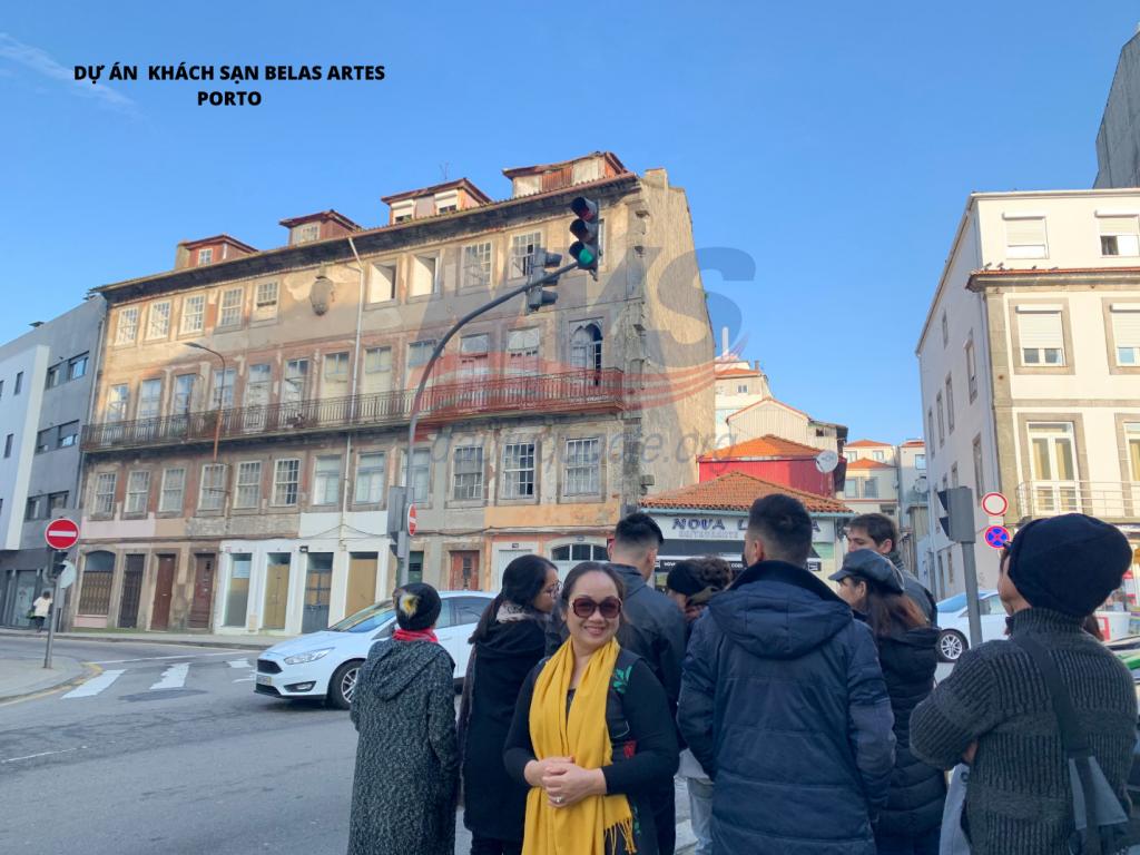 Tham quan dự án trùng tu khách sạn Belas Art tại Porto