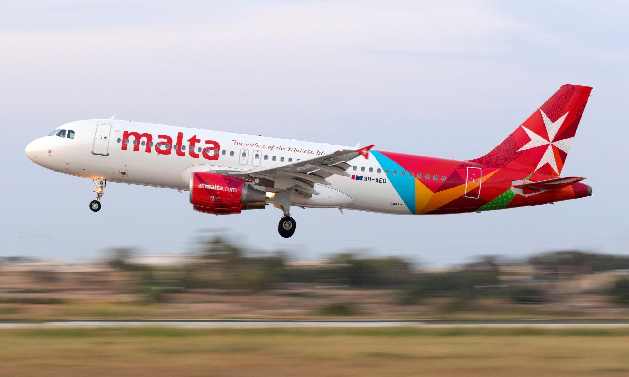 ngành hàng không ở Malta