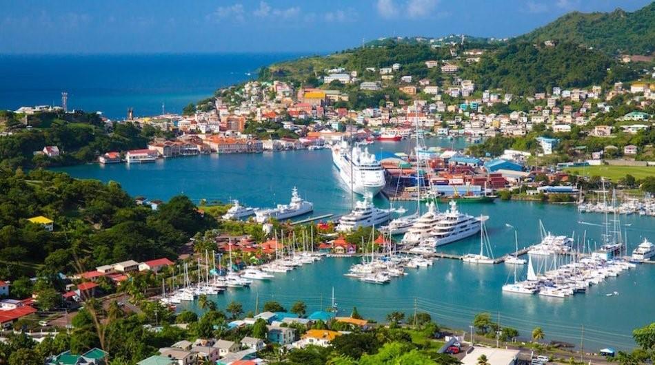 đầu tư quốc tịch Grenada, quốc đảo trong lành, xinh đẹp