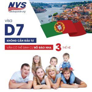 visa D7 định cư Bồ Đào Nha