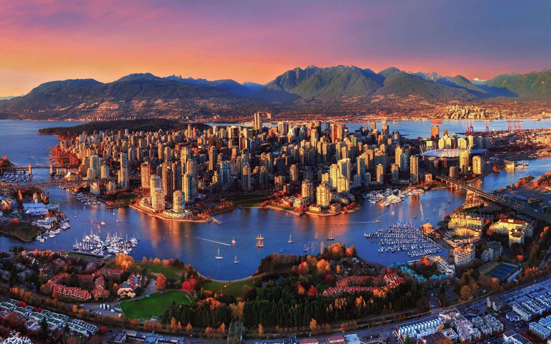 chất lượng sống Canada 2020