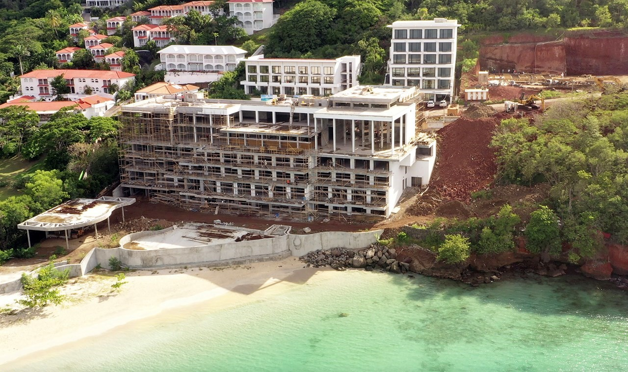 cập nhật tiến độ dự án Kimpton Kanawabay, Grenada