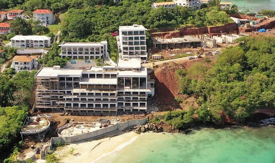 Tòa nhà Matura bên bờ biển đang gần hoàn thành