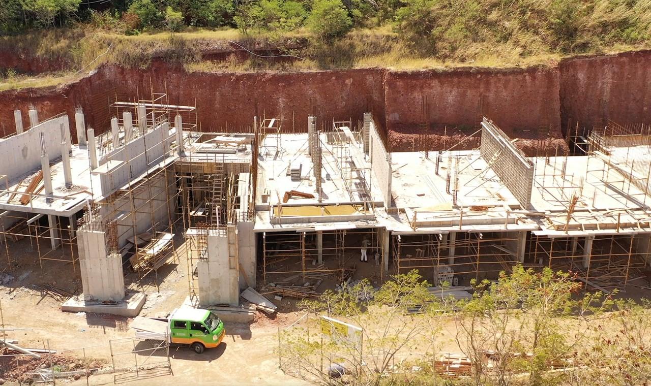Các đơn vị trong tòa nhà Matura bên bờ biển sắp hoàn thiện