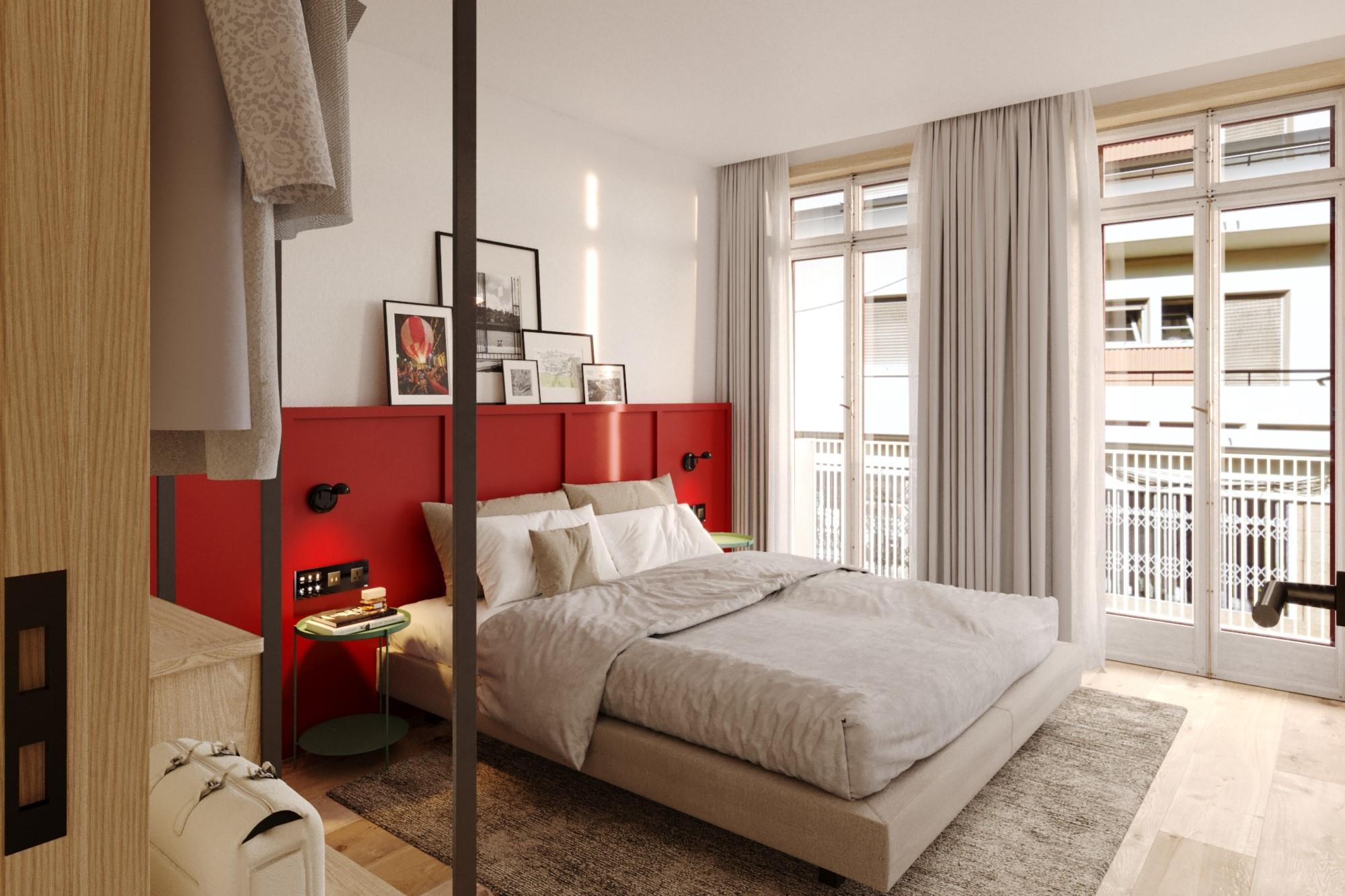 Dự án bao gồm 24 phòng rộng rãi và sáng sủa, theo tiêu chí Suites tiêu chuẩn