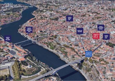 Vị trí dự án Porto Art´s Suites nằm ở Đại lộ Rodrigues de Freitas sầm uất thành phố Porto