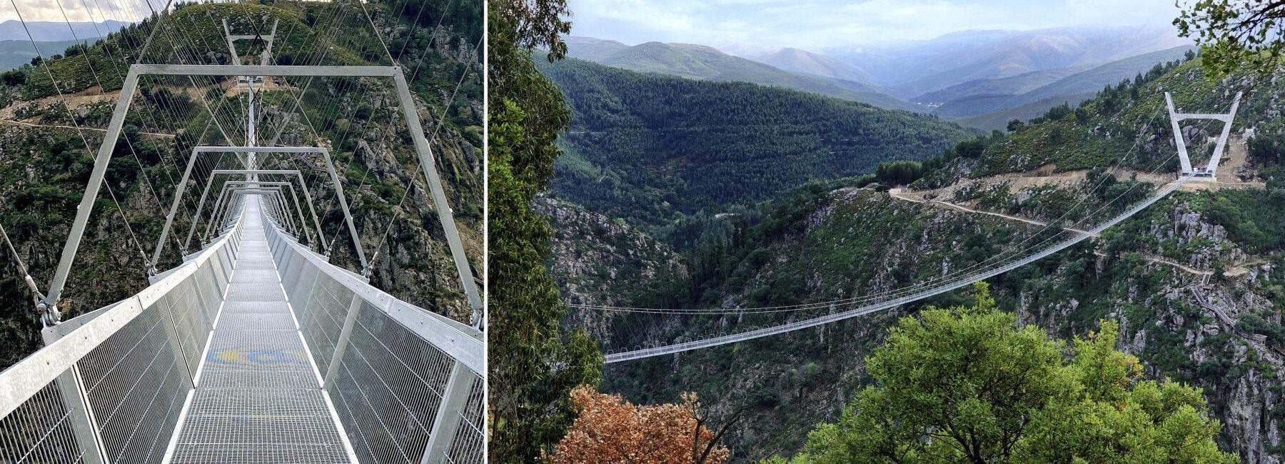 Bồ Đào Nha khai trương cây cầu dài nhất thế giới dành cho người đi bộ
