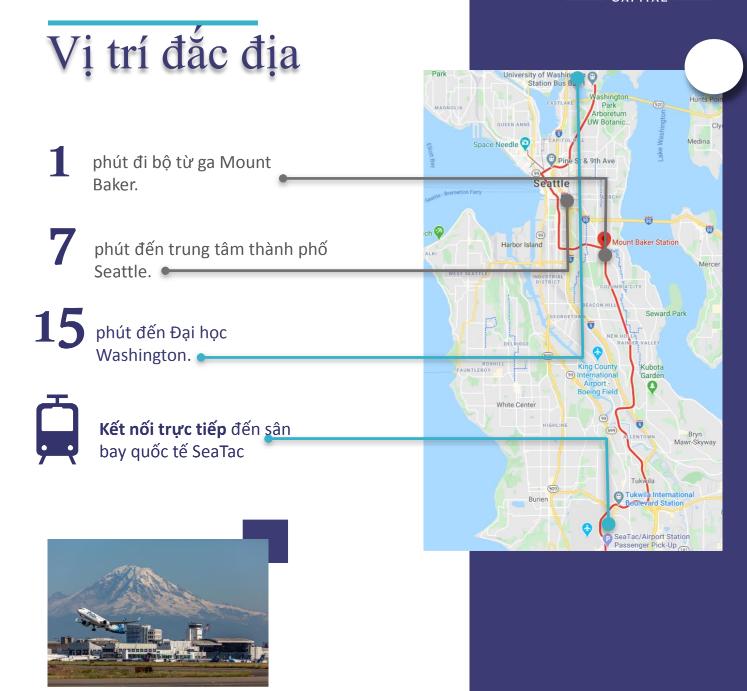 Dự án Stazione nằm tại thành phố Seattle sầm uất và thịnh vượng bậc nhất Washington