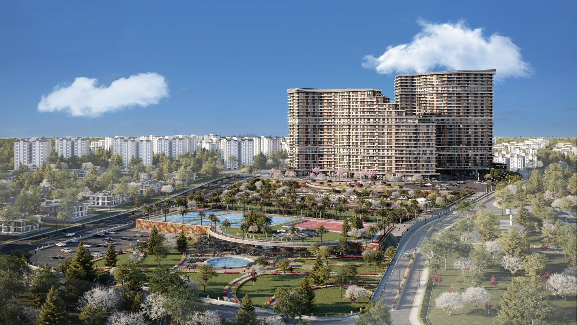 Demir Country nằm ở quận Beylikduzu, một trong những khu vực đang phát triển quan trọng nhất thành phố Istanbul